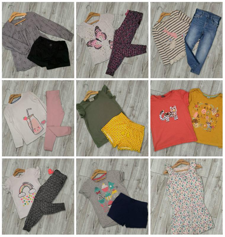 Пакет вещей для девочки 4-5 лет (рост 110)