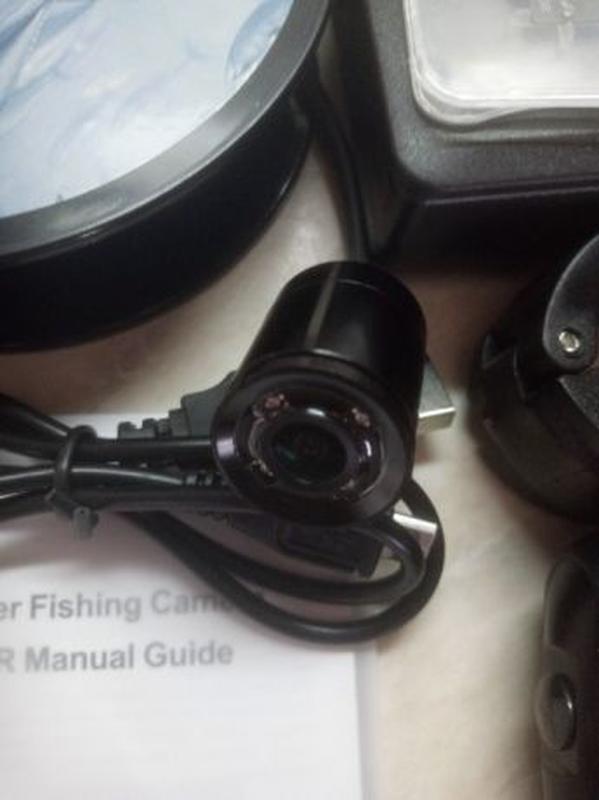 LUCKY рыболовная камера ночного видения с экраном - Фото 2