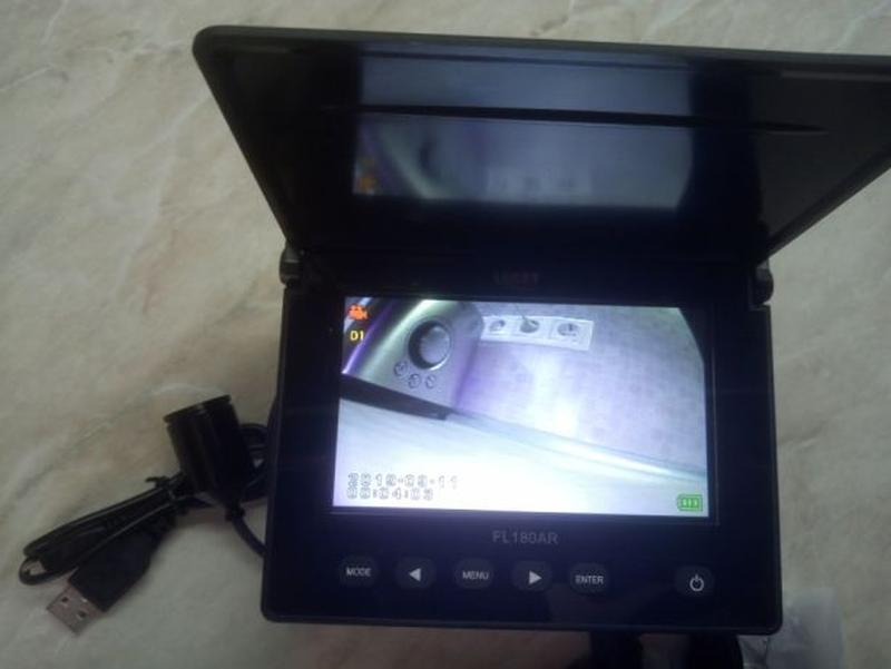 LUCKY рыболовная камера ночного видения с экраном - Фото 4