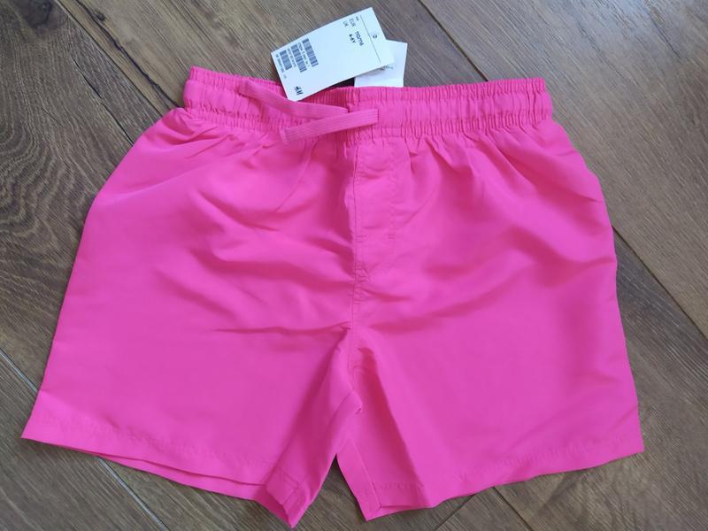 H&m.  шорти для плавання для хлопчиків