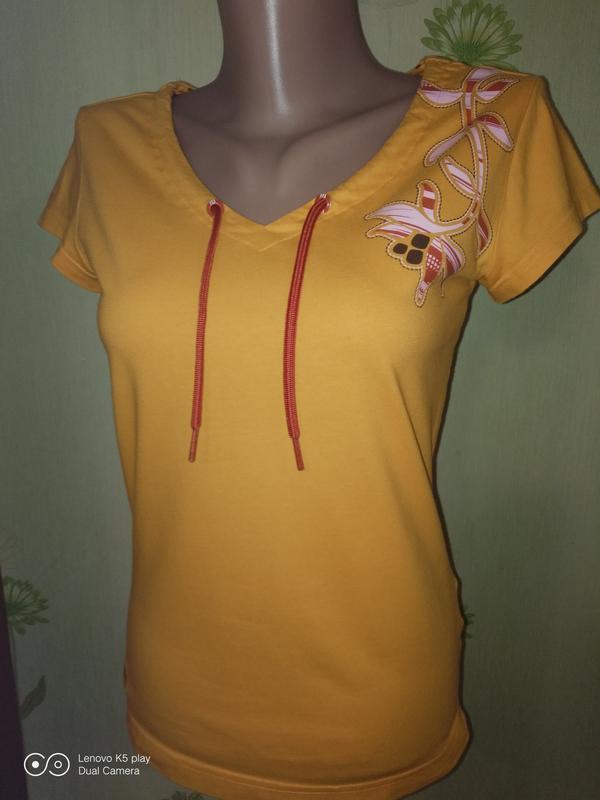 Классная футболка adidas девочке-148-156