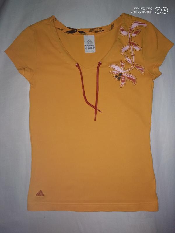 Классная футболка adidas девочке-148-156 - Фото 4