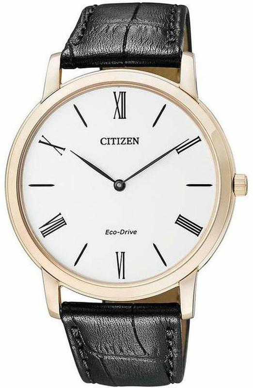 Мужские часы Citizen Stilleto Eco-Drive Ultra Thin AR1113-12B - Фото 2