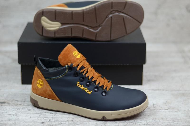 Натуральная кожа зимние мужские кожаные ботинки