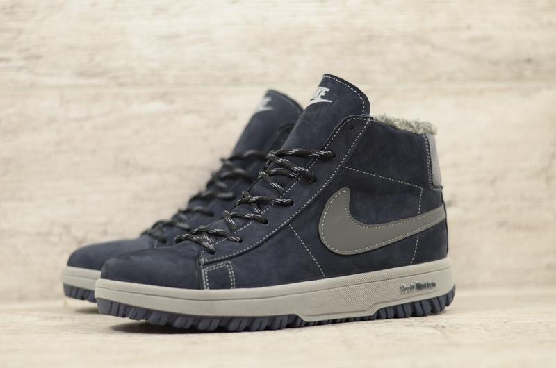 Натуральная замшаа мужские зимние замшевые тактические ботинки...