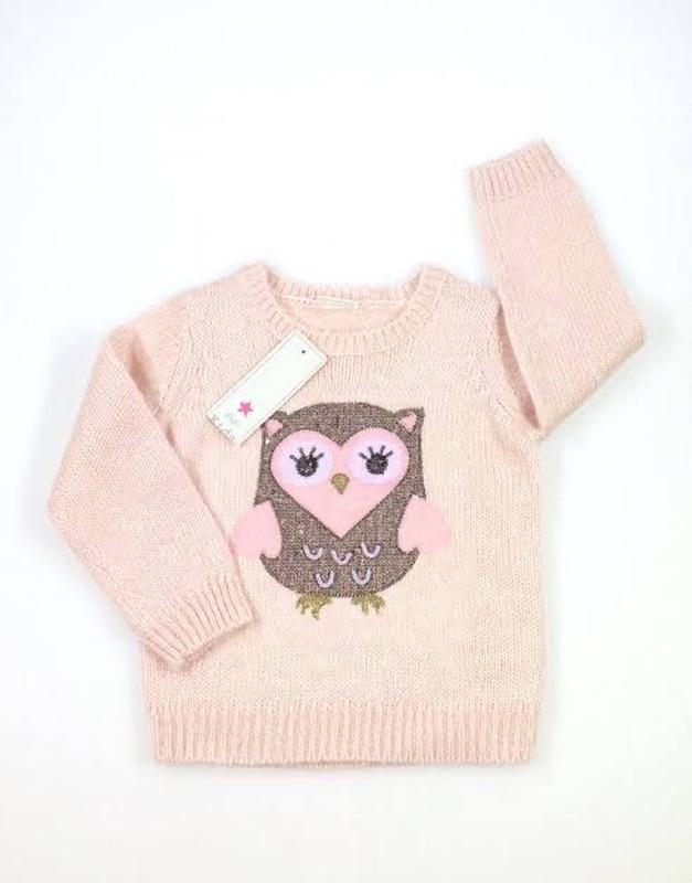 Тёплый свитер совушки????????????