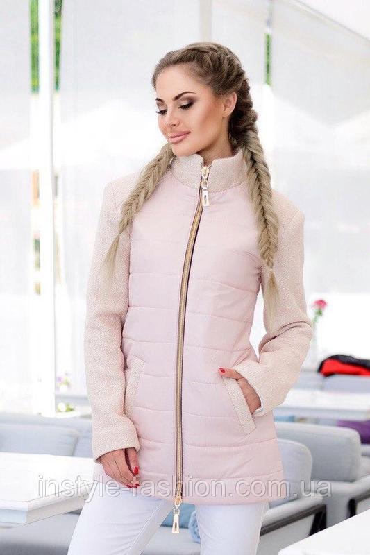 Новая куртка  - демисезонное пальто - Фото 2