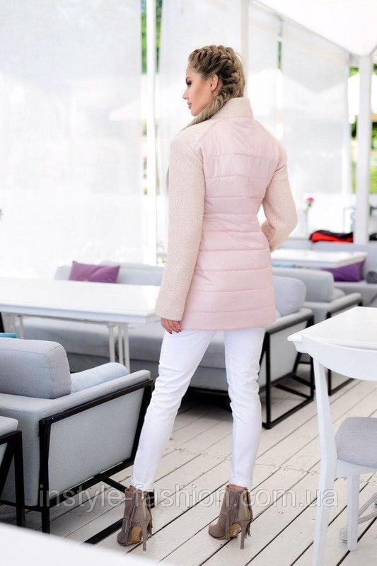 Новая куртка  - демисезонное пальто - Фото 3