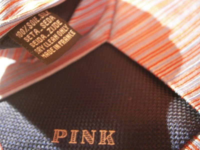 Оригинал шелк галстук от pink - Фото 5