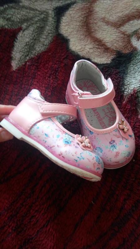 Туфельки для девочки Шалунишка - Фото 2