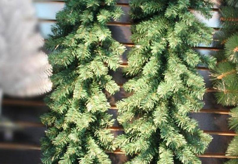 Рождественский ротанг искусственная гирлянда висячая ель елка сос - Фото 2