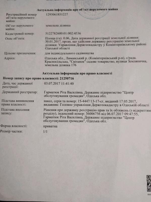 Земельный участок, с. Светлое, СТ Свитанок