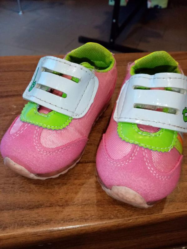 Лёгкие красовочки для девочки р 21 - Фото 2