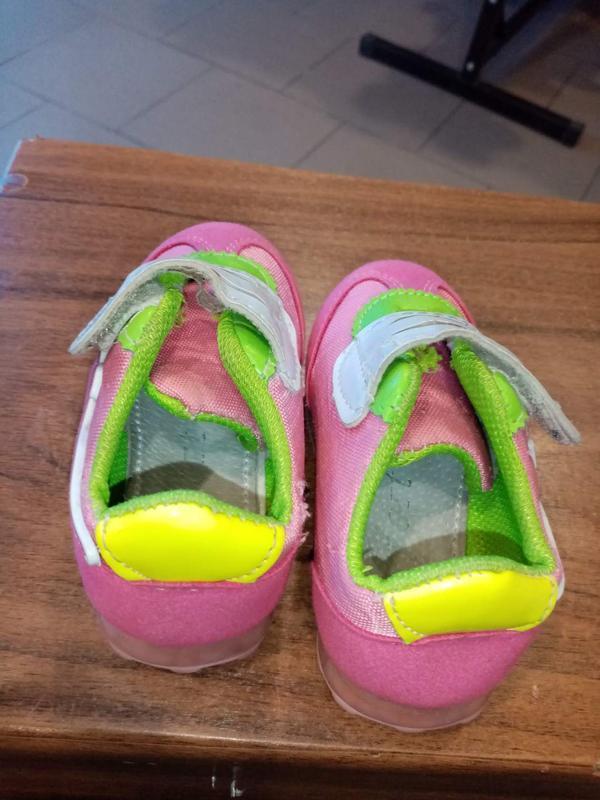 Лёгкие красовочки для девочки р 21 - Фото 3