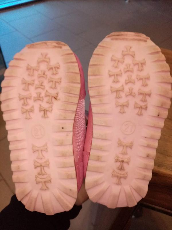 Лёгкие красовочки для девочки р 21 - Фото 4