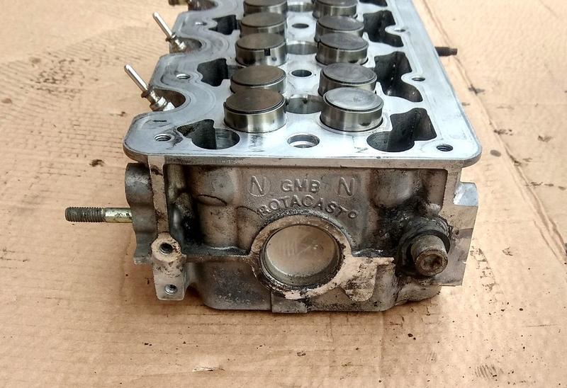 Головка блока цилиндров Опель Комбо ГБЦ Opel Combo 1.7DTI 16V - Фото 4