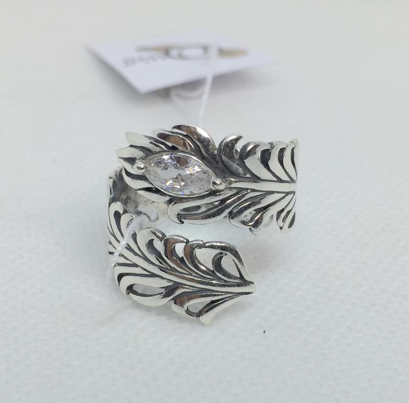 Новое красивое серебряное кольцо куб.цирконий чернение серебро...