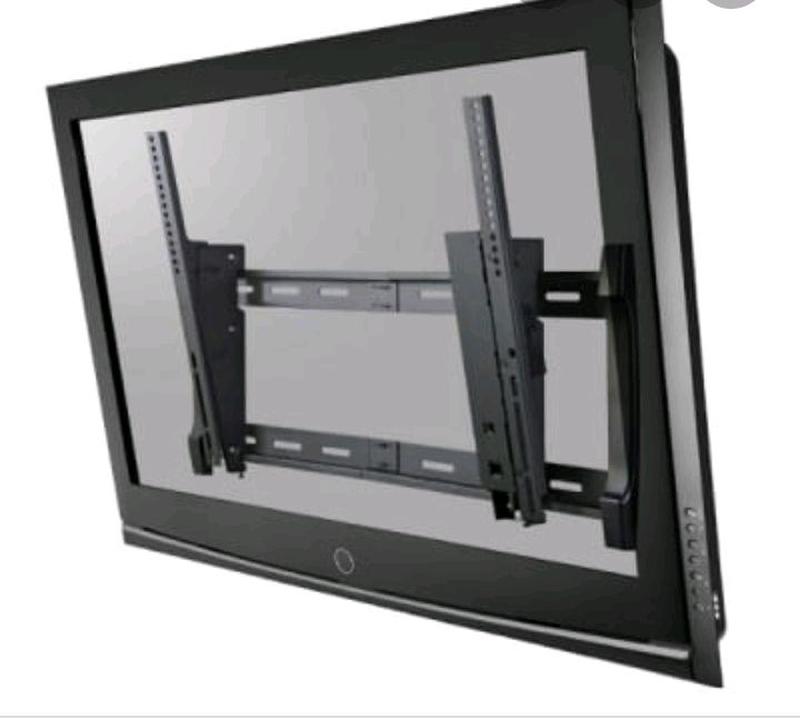 Монтаж повесить телевизор на стену. Настройка установка.