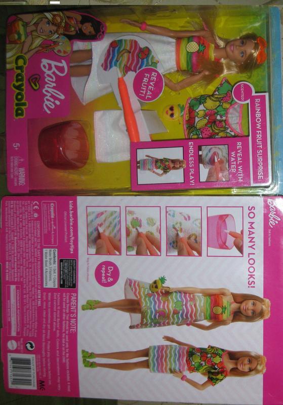Кукла Barbie Crayola Фруктовый сюрприз Подробнее - Фото 10