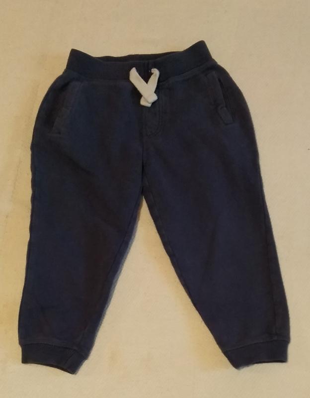 Трикотажные штаны 2-3 года