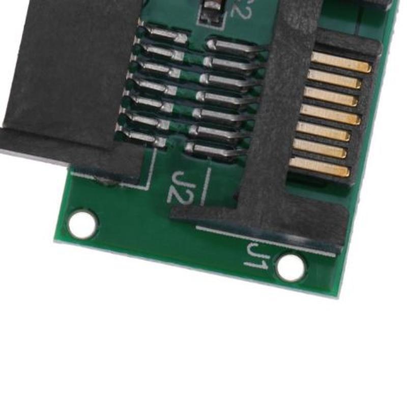 1.8 Inch Micro SATA HDD SSD 3.3V to 2.5 Inch 22PIN SATA 5V Ada... - Фото 7