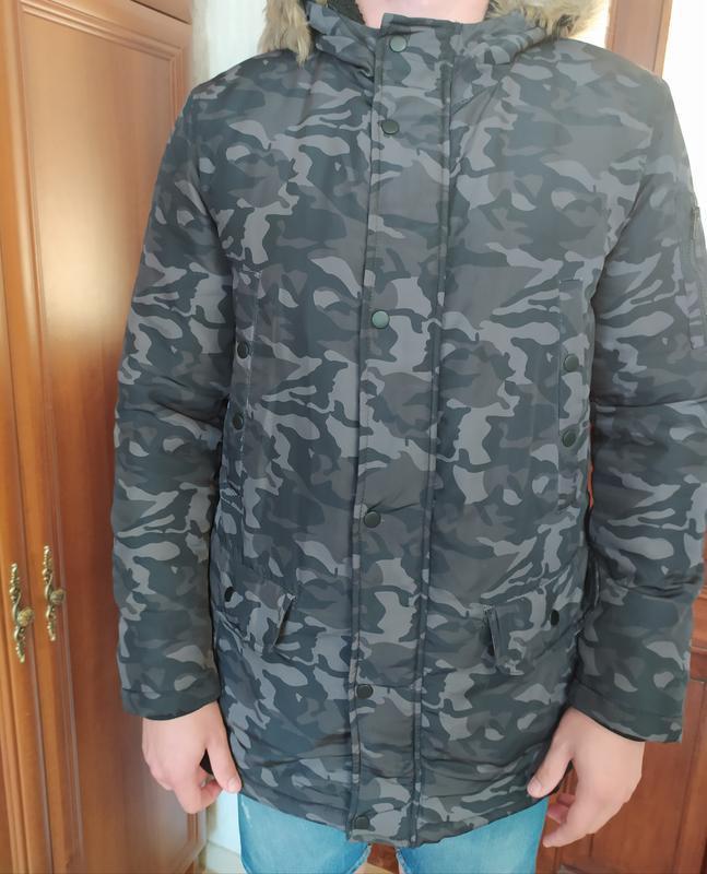 Фірмова чоловіча зимова куртка