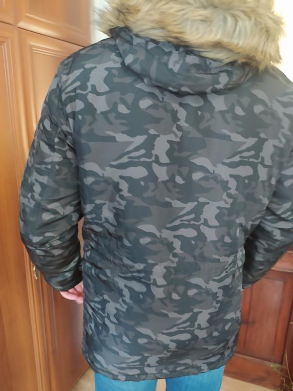 Фірмова чоловіча зимова куртка - Фото 2