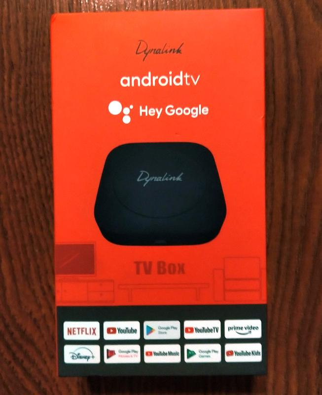 Dynalink Android TV Box (Android TV 10, S905Y2, 2/8 GB, WiFi 5G)