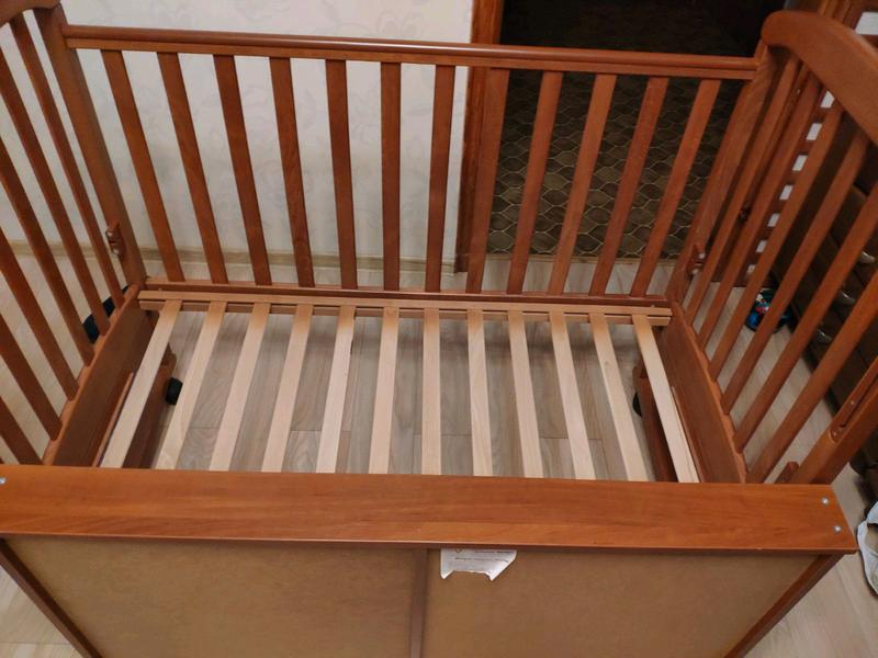 Детская кроватка СОНЯ ЛД 9 Воздушный змей - Фото 5