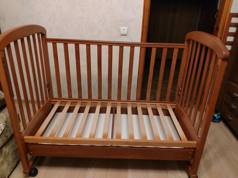 Детская кроватка СОНЯ ЛД 9 Воздушный змей - Фото 3