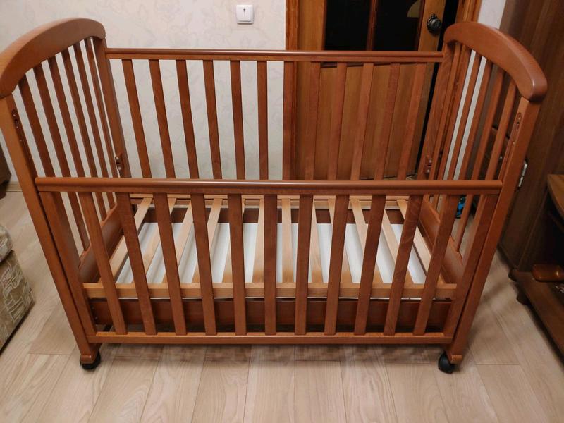 Детская кроватка СОНЯ ЛД 9 Воздушный змей - Фото 2