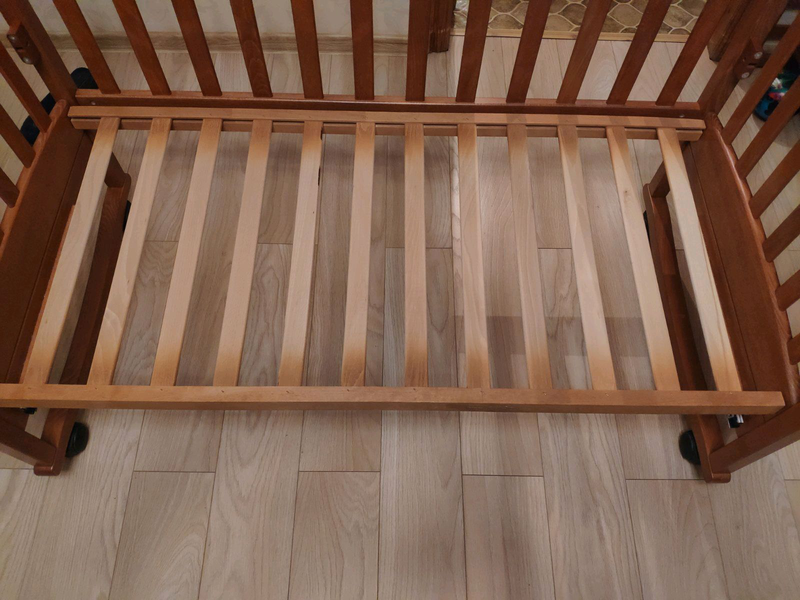 Детская кроватка СОНЯ ЛД 9 Воздушный змей - Фото 14