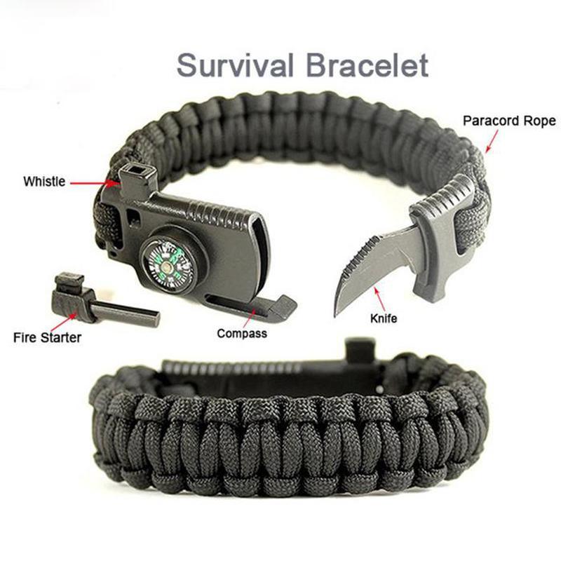 Мужской многофункциональный браслет для выживания
