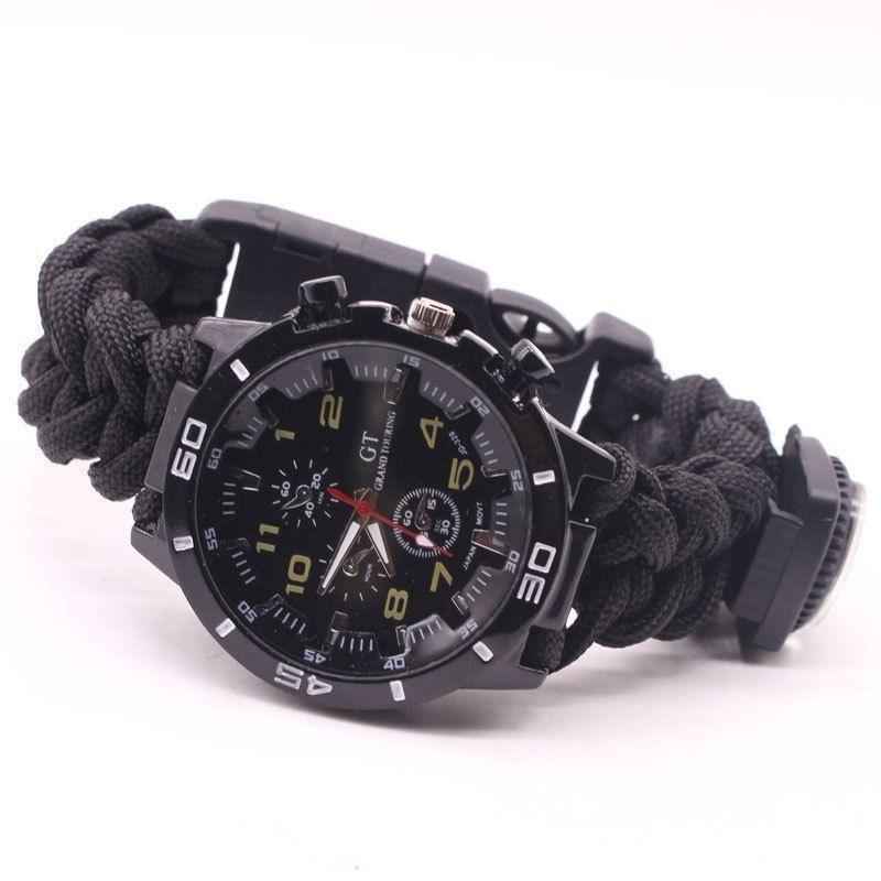 Мужские Наручные Часы многофункциональный браслет для выживания