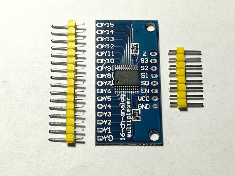 Модуль мультиплексора HP4067 коммутатор для Ардуино