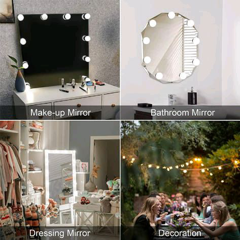 LED лампы для зеркала светильник подсветка макияжа ванны - Фото 9