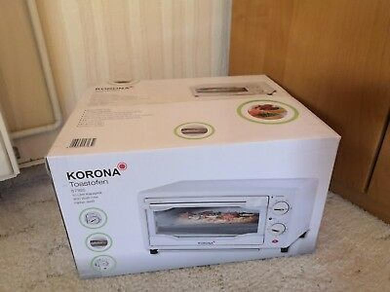 Korona 57165 Тост-піч, 10 л, 800 Вт, білий