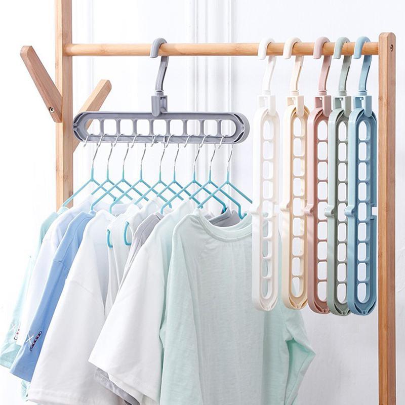 Умная (универсальная, многоопорная) вешалка органайзер для одежды