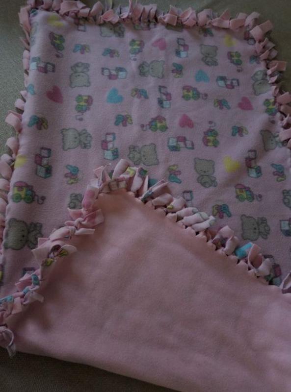 Детский плед, Покрывало в кроватку и Байковое одеяло.
