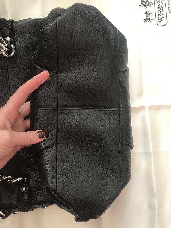 Брендовая номерная сумка *coach* натуральная кожа!! - Фото 10