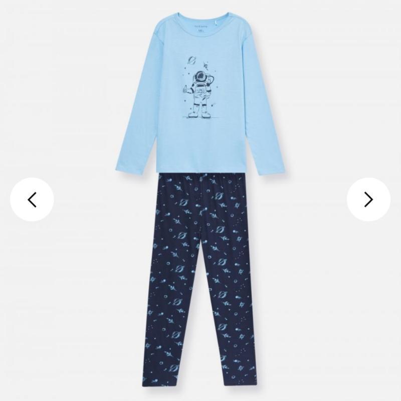 Пижама пижамка космос бавовна піжамка піжамки
