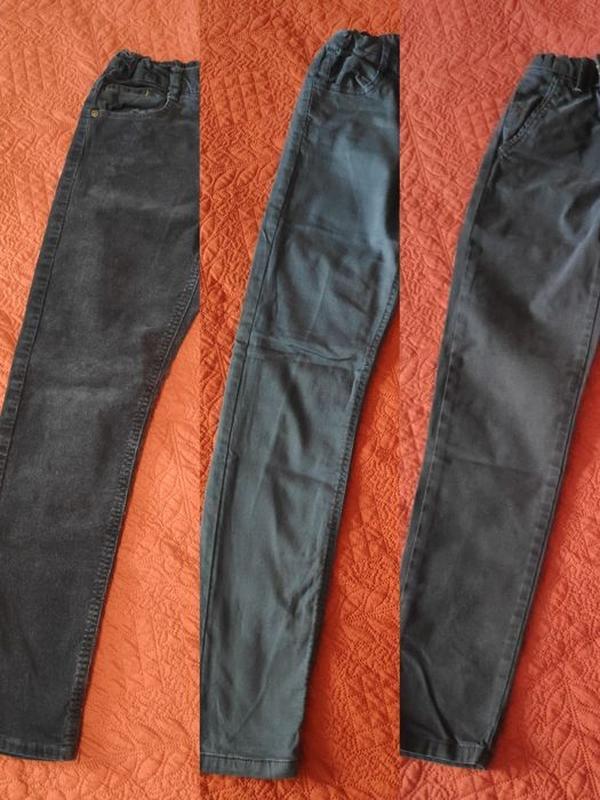Штаны джинсы zara mayoral 8-9 лет или 134 см. еще много от 3 д...