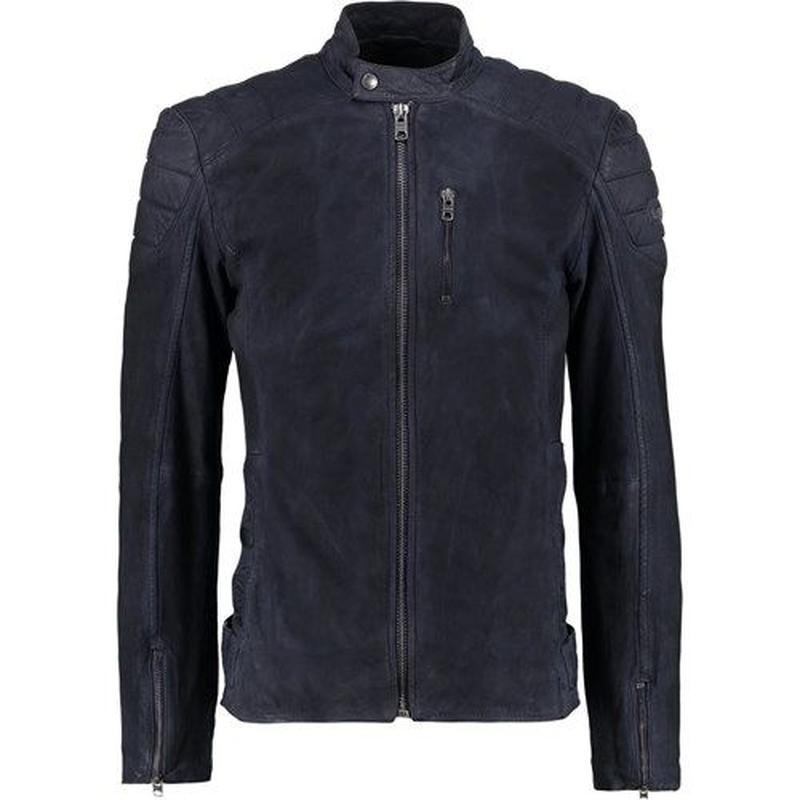 Кожаная куртка косуха Tigha Diesel G star Gucci - Фото 2