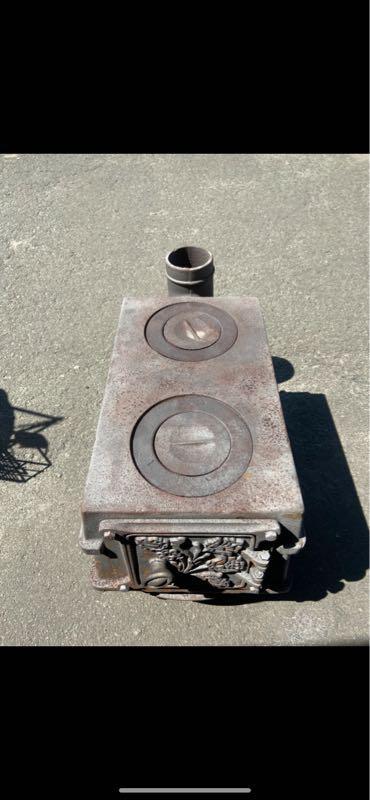 Печка печь буржуйка чугун камин булерьян топка піч чавун камін