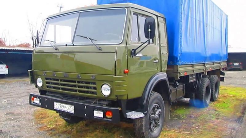 Авто проводка на КАМАЗ 5320, 53212