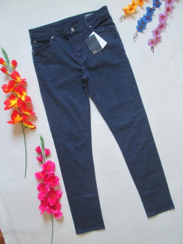 Классные стрейчевые плотные джинсы слим дымчатый синий asos
