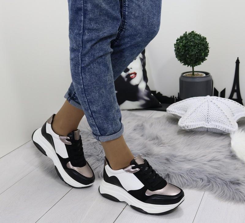 Новые шикарные женские кроссовки - Фото 2