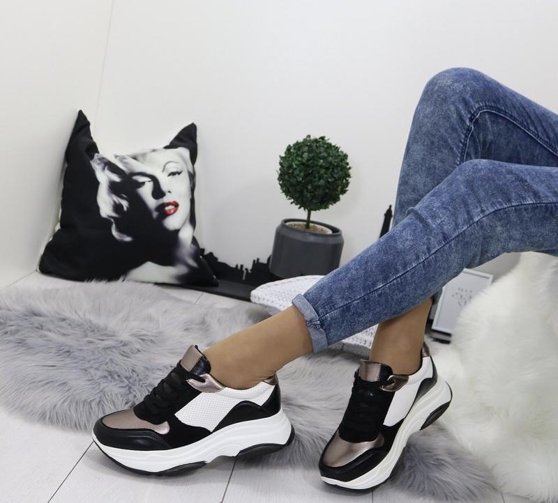 Новые шикарные женские кроссовки - Фото 3