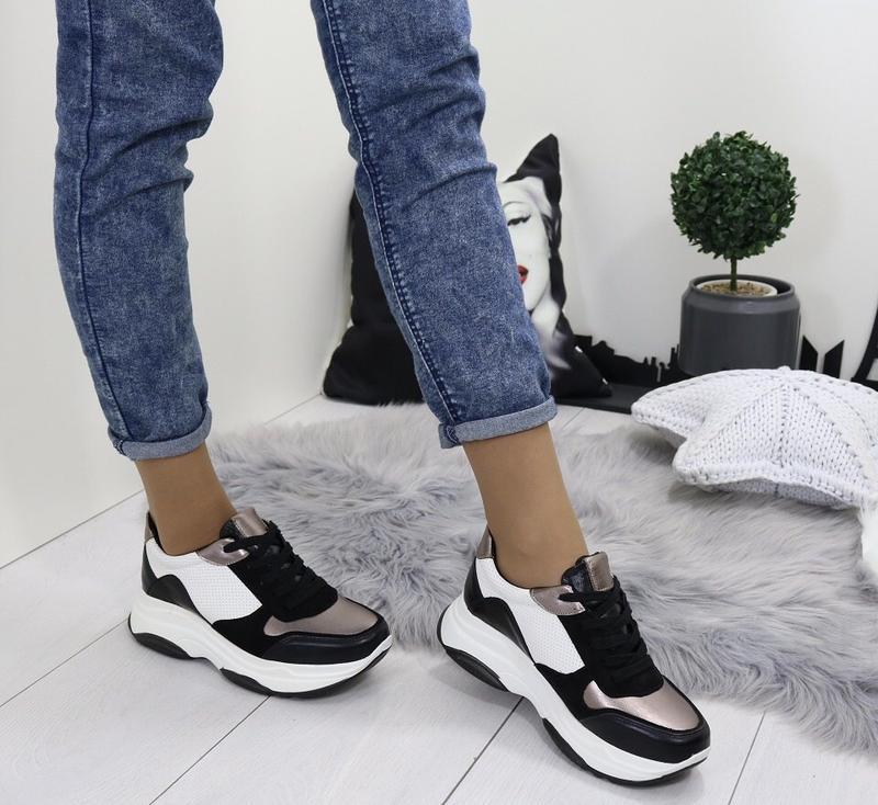 Новые шикарные женские кроссовки - Фото 4