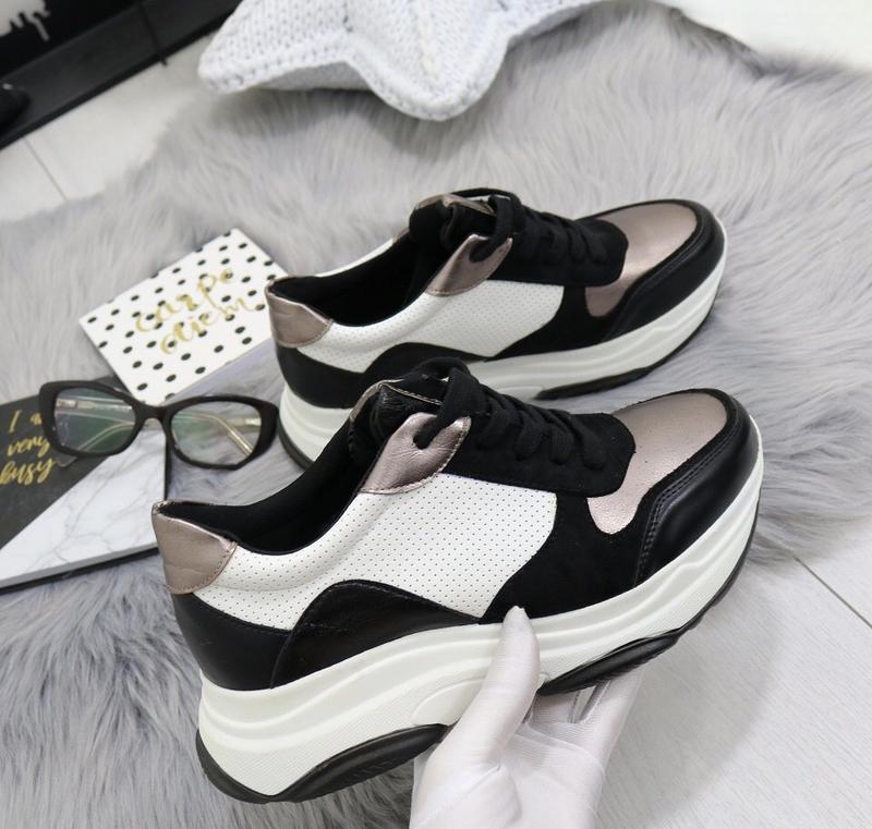 Новые шикарные женские кроссовки - Фото 5